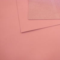 1mm Smooth Cowhide Baby Pink A4